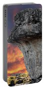 Rock Wallpaper Portable Battery Charger
