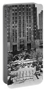 Rockefeller Center Plaza Portable Battery Charger