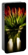 Rocket Propelled Tulips Portable Battery Charger