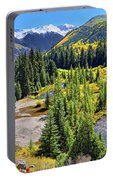 Rockies And Aspens - Colorful Colorado - Telluride Portable Battery Charger