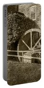 Rockland Grist Mill - Sepia Portable Battery Charger