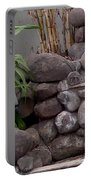 Rocks And Grass Portable Battery Charger
