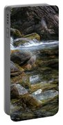 Rocks And Little Water Portable Battery Charger