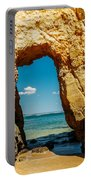 Rocks And Ocean Landscape In Lagos, Wall Art Print, Landscape Art, Poster Decor, Printable Photo Portable Battery Charger
