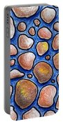 Rocks And Water Abstract Portable Battery Charger