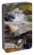 Rocks In A Stream 2a Portable Battery Charger