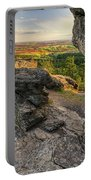 Rocks Of Sharon Overlook Portable Battery Charger