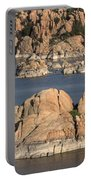 Rocks Of Watson Lake  Portable Battery Charger
