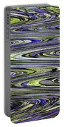 Rocks On Beach Abstract Portable Battery Charger