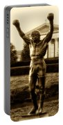 Rocky - Heart Of A Champion  Portable Battery Charger by Bill Cannon