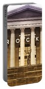 Rocky Balboa On The Art Museum Steps Portable Battery Charger