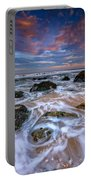 Rocky Beach At Sandy Hook Portable Battery Charger