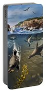 Rocky California Shore Portable Battery Charger