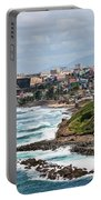 Rocky Coast Of Puerto Rico Portable Battery Charger