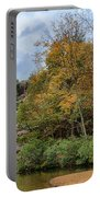 Rocky Falls In The Fall Portable Battery Charger
