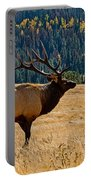 Rocky Mountain Bull Elk Portable Battery Charger