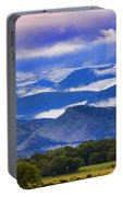 Rocky Mountain Cloud Layers Portable Battery Charger