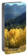 Rocky Mountain High Colorado - Landscape Photo Art Portable Battery Charger