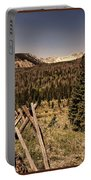 Rocky Mountain National Park Vintage Portable Battery Charger