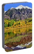 Rocky Mountain Reflections - Telluride - Colorado Portable Battery Charger