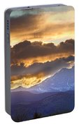 Rocky Mountain Springtime Sunset 3 Portable Battery Charger