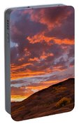 Rocky Mountain Sunset Portable Battery Charger