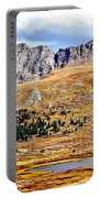 Rocky Mountain Tundra And Lake Portable Battery Charger