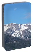 Rocky Mountain Waning Gibbous Moon Set Portable Battery Charger