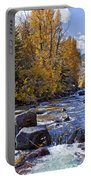 Rocky Mountain Water 8 X 10 Portable Battery Charger by Kelley King