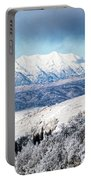 Rocky Mountain Winter Portable Battery Charger
