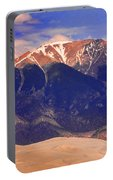 Rocky Mountains And Sand Dunes Portable Battery Charger