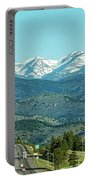 Rocky Mountains Panorama Portable Battery Charger