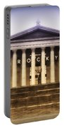 Rocky On The Art Museum Steps Portable Battery Charger