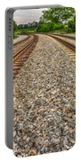 Rocky Railroad Rails Portable Battery Charger