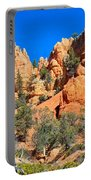 Rocky Range At Red Canyon Portable Battery Charger
