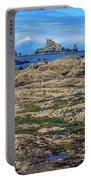Rocky Washington Coast Of The Pacific Portable Battery Charger