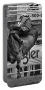 Rodeo Bull Riding 1 Portable Battery Charger