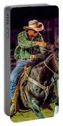 Rodeo Cowboy Portable Battery Charger