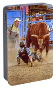 Rodeo Rider Down Portable Battery Charger
