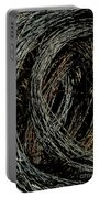 Rolled Barbed Wire-signed-#1936 Portable Battery Charger