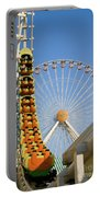Roller Coaster And Ferris Wheel Portable Battery Charger