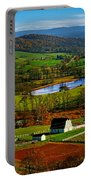 Rolling Countryside Portable Battery Charger