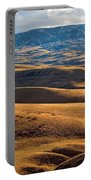 Rolling Foothills And The Bighorn Mountains Portable Battery Charger