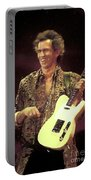 Rolling Stones Keith Richards Painting Portable Battery Charger