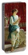 Roman Girl Portable Battery Charger