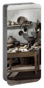 Roman Kitchen, 100 A.d Portable Battery Charger