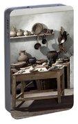 Roman Kitchen, 100 A.d Portable Battery Charger