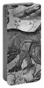 Roman Mosaic: Man & Horse Portable Battery Charger