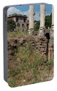 Roman Poppy Portable Battery Charger