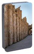 Roman Ruins At Jerash, Jordan  Portable Battery Charger